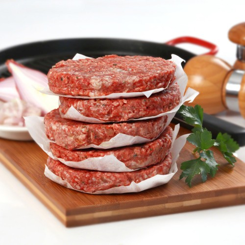 Рецепт котлеты для гамбургера из говядины